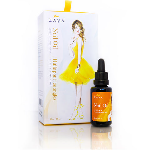 ZAYA  Eco Skincare Natural| Nail repair Oil for cuticle