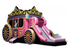 Princess Carriage Bounce House Combo