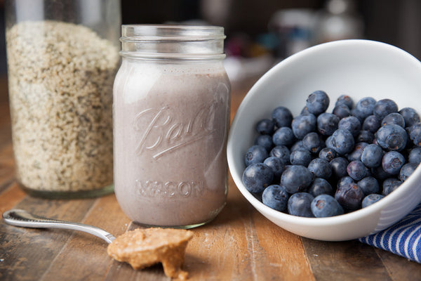 Be Well Smoothie: Blueberry Muffin Recipe