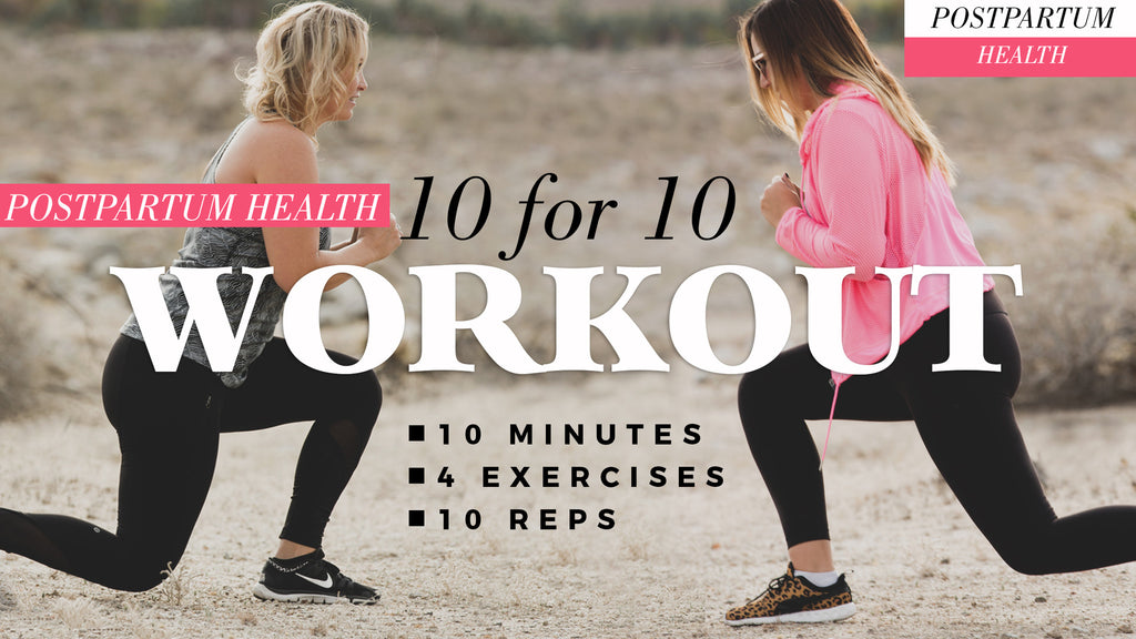 Postpartum Health: Workout and Tips with an expert!