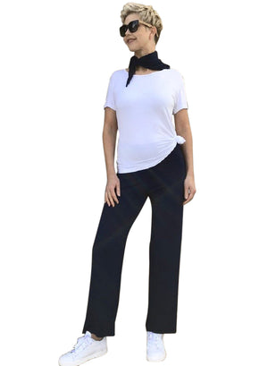 Bamboo Full-Length Pants / NAVY