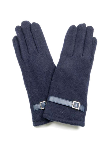Gloves / HEATHER NAVY