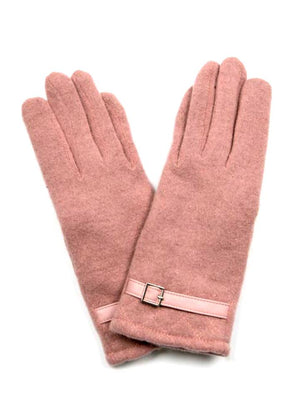Gloves / HEATHER PINK