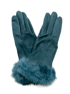 Gloves / PIXIE TEAL