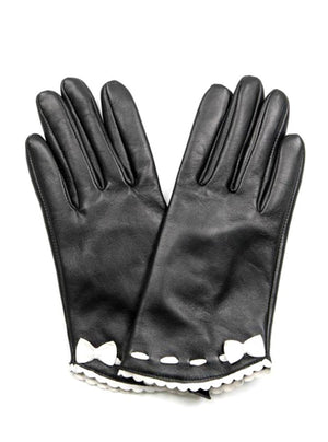 Gloves / ROMY BLACK & WHITE