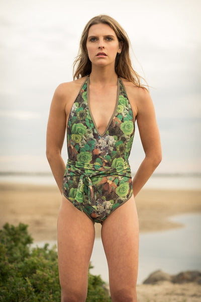 Salty Swimwear / MARGOT One Piece - Bed of Roses