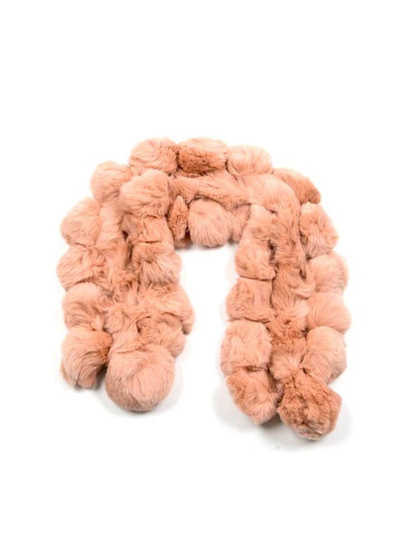 FUR SCARF / BROOKLYN NUDE