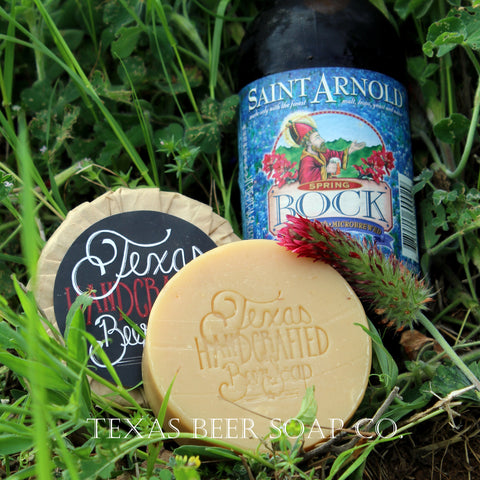 Spring ~ Texas Beer Soap
