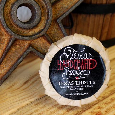 Texas Thistle Beer Soap