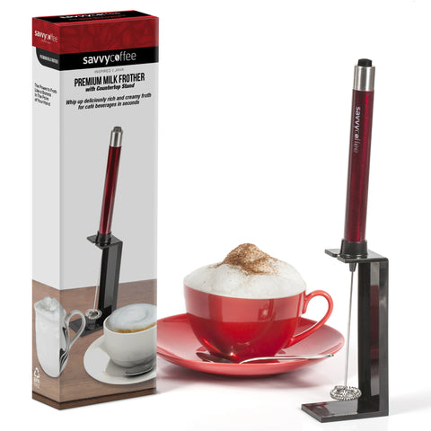 Savvy Coffee Handheld Milk Frother