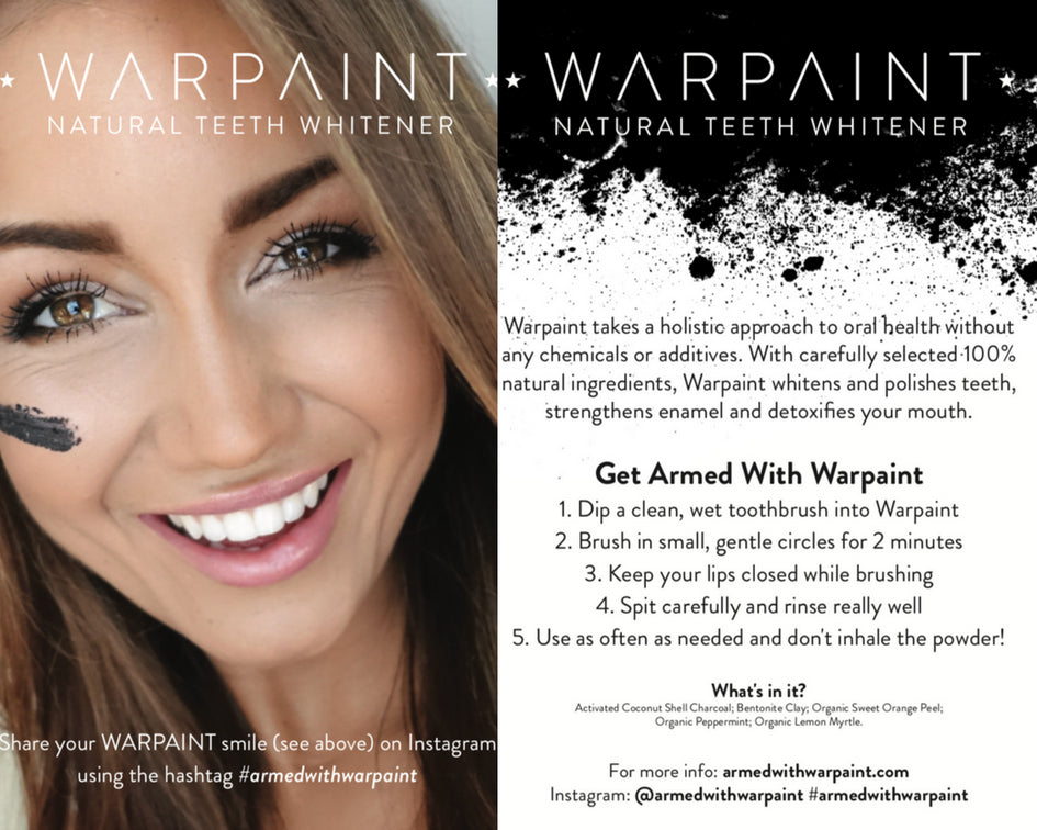 50 Pack WARPAINT® Brochure