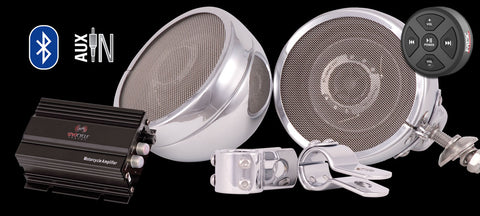 Classic Edition Motorcycle Speakers