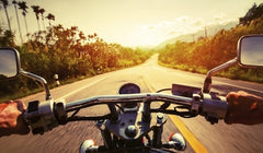 Motorcycle Riding in Summer
