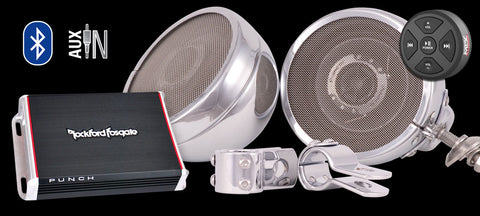 Platinum Motorcycle Speakers