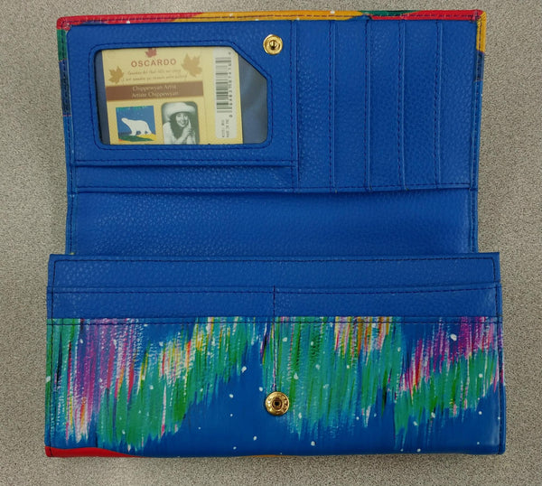 Sky Watchers by Dawn Oman Wallet