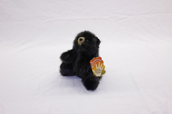 Folkmanis Baby Black Bear Puppet - Up the Lake Trading Company  - 2