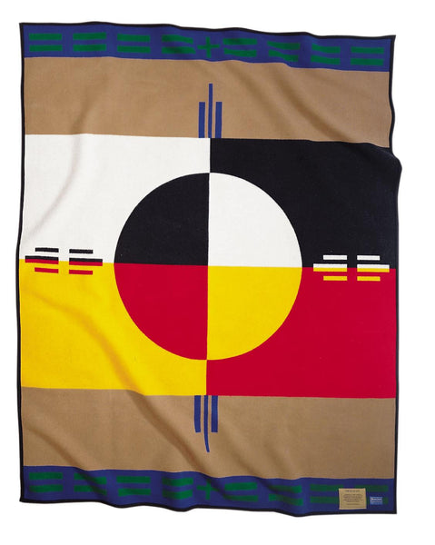 Pendleton Legendary Blanket - Circle of Life - Up the Lake Trading Company