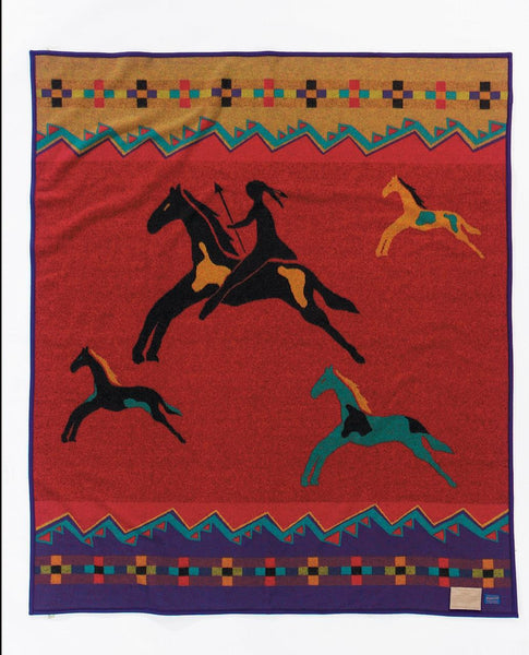 Pendleton Legendary Blanket - Celebrate the Horse