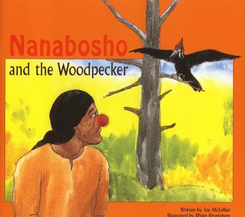 Nanabosho and the Woodpecker - Up the Lake Trading Company
