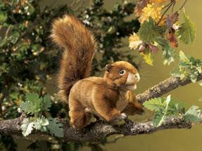 Red Squirrel Puppet - Up the Lake Trading Company  - 1