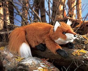 Small Red Fox Puppet - Up the Lake Trading Company