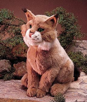 Folkmanis Bobcat Puppet - Up the Lake Trading Company