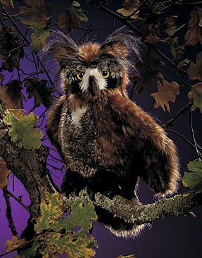 Great Horned Owl Puppet - Up the Lake Trading Company