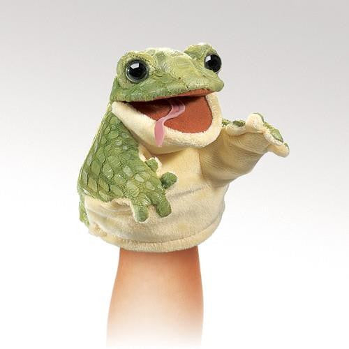 Folkmanis Little Frog Puppet - Up the Lake Trading Company