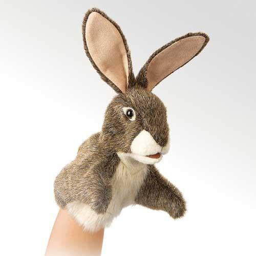 Folkmanis Little Hare Puppet - Up the Lake Trading Company
