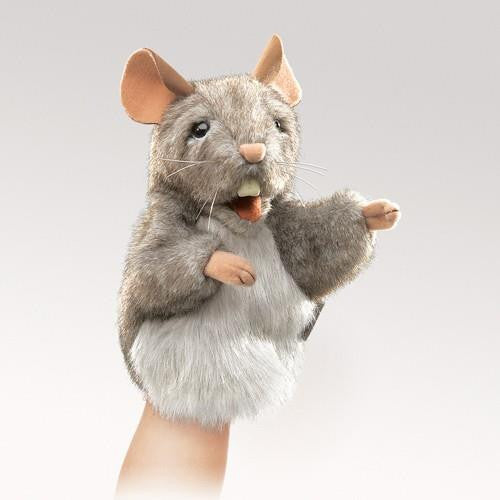 Folkmanis Little Mouse Puppet - Up the Lake Trading Company