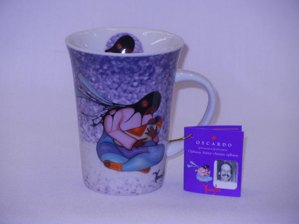 Cecil Youngfox Porcelain Coffee Mug - Joyous Motherhood - Up the Lake Trading Company  - 1
