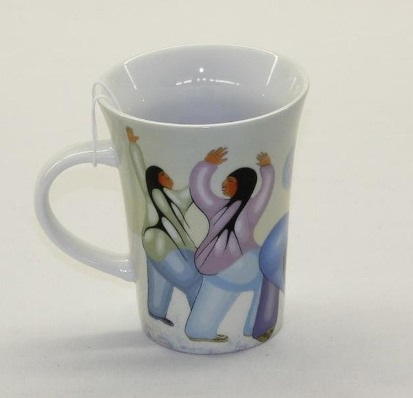 Cecil Youngfox Porcelain Coffee Mug - Helmo Winter - Up the Lake Trading Company  - 1