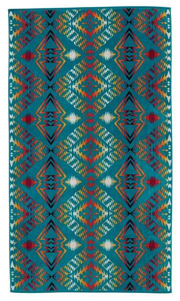Pendleton Jacquard Towel - Thunder and Earthquake - Up the Lake Trading Company