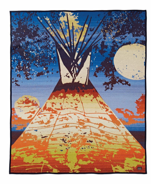 Pendleton Legendary Blanket - Full Moon Lodge - Up the Lake Trading Company