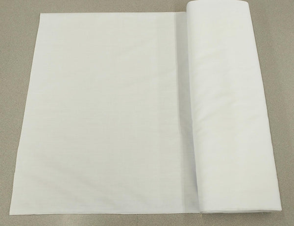 Broadcloth (Polycotton) Fabric - White