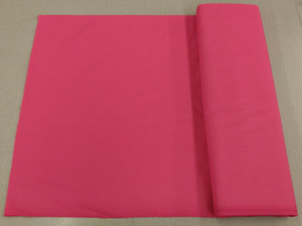 Broadcloth (Polycotton) Fabric - Bubblegum Bright Pink