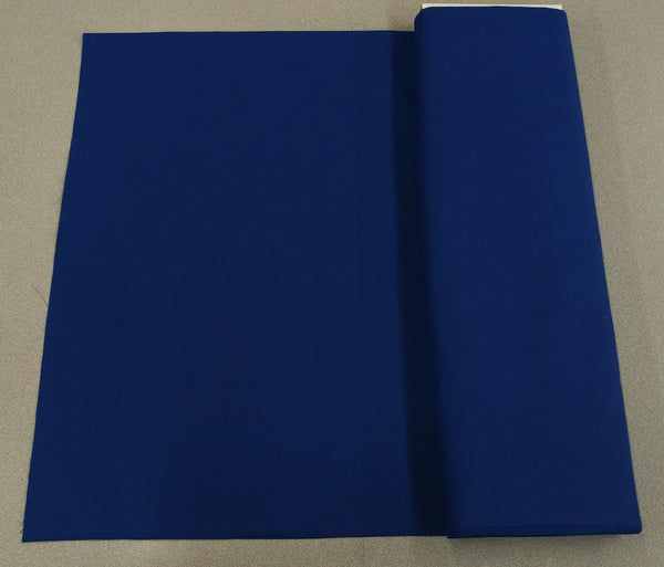 Broadcloth (Polycotton) Fabric - Royal Blue