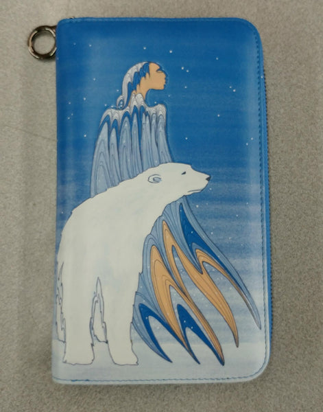 Mother Winter by Maxine Noel Travel Wallet