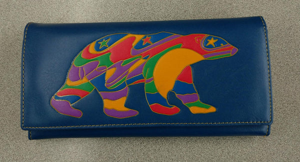 Alpha Bear by Dawn Oman Wallet