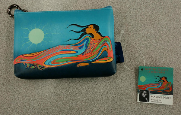 Mother Earth by Maxine Noel Change Purse