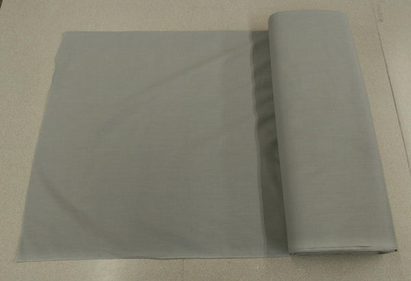 Broadcloth (Polycotton) Fabric - Gray