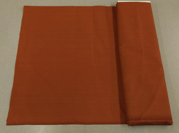 Broadcloth (Polycotton) Fabric - Clay Brown