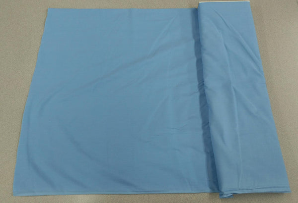 Broadcloth (Polycotton) Fabric - Light Blue