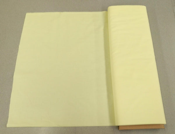 Broadcloth (Polycotton) Fabric - Soft Yellow