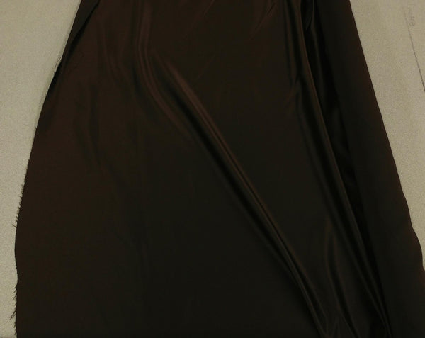 Satin Fabric (Bridal) - Brown