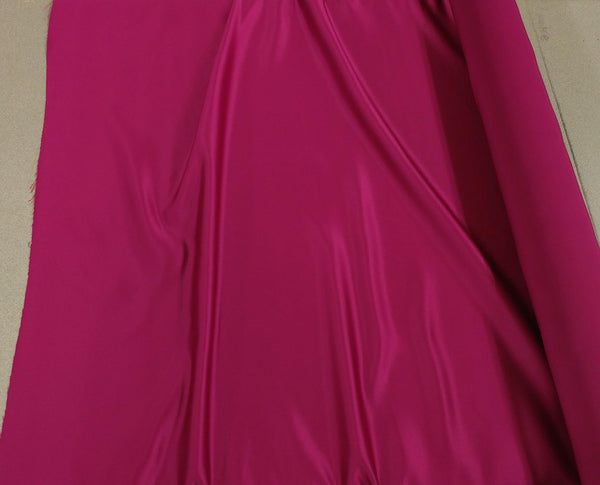 Satin Fabric (Bridal) - Magenta