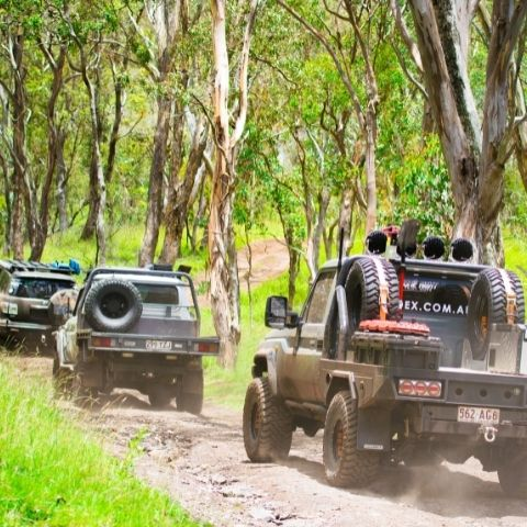 TRED Trips Gordon Country 3 4wd convoy
