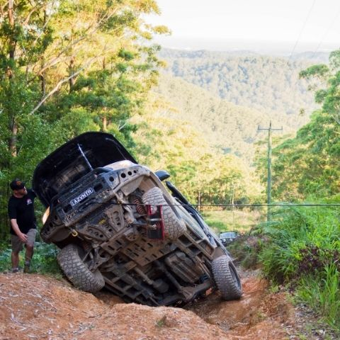 TRED winch recovery