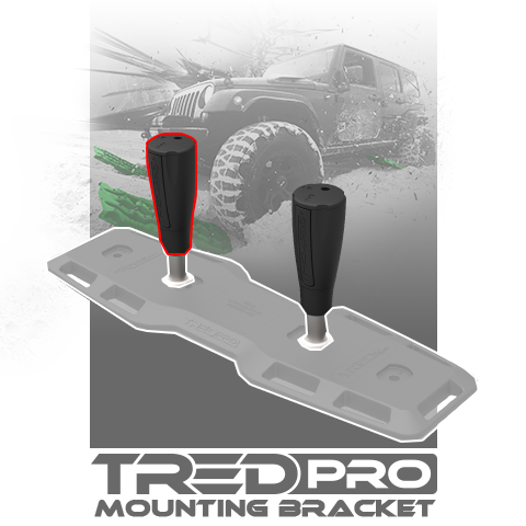 TRED Pro Mounting Bracket (Ratchet/Handle Assembly only)