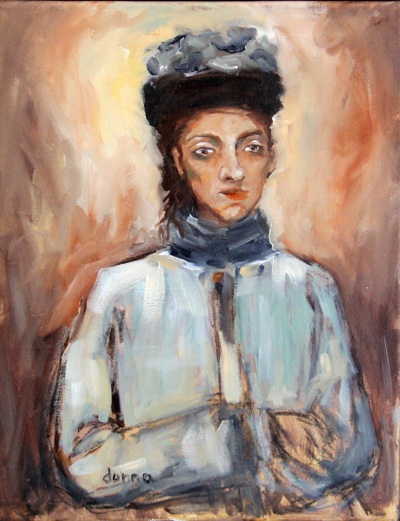"""Portrait of a Woman"" - Donna Downey Studios Inc"